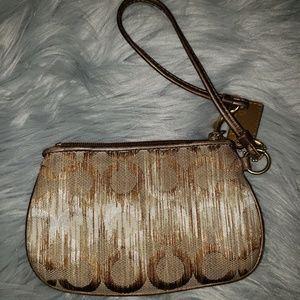Coach Bags - Coach Vintage Wristlet